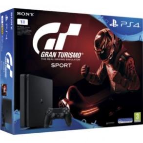 PlayStation 4 (PS4) Slim 1000GB + Gran Turismo Sport++36 MESEČNA GARANCIJA