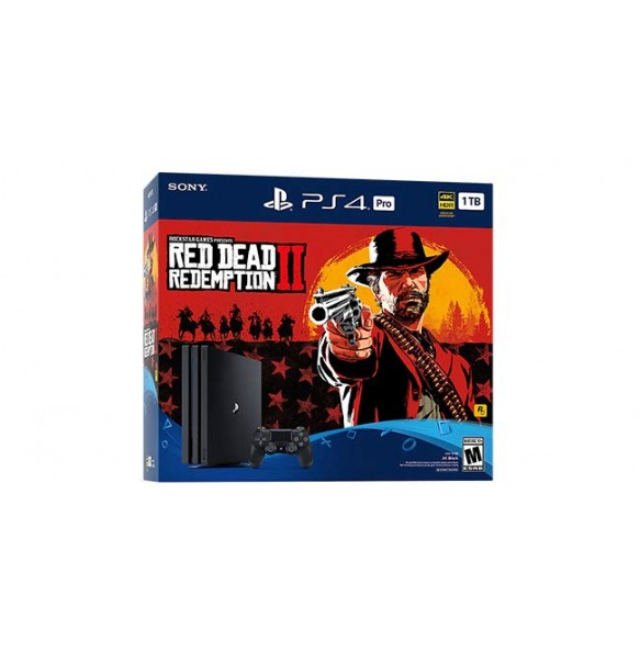 PS4 SLIM 500GB + RED DEAD REDEMPTION 2+PG PAKET 5X PS4 IGRE