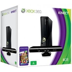 Xbox 360 Slim 4GB original +KINECT kamera+2x ploščeka+10x igre XBOX 360