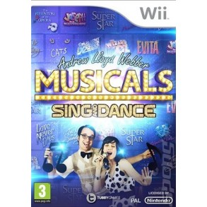 Andrew Lloyd Webber Musicals Sing and Dance WII