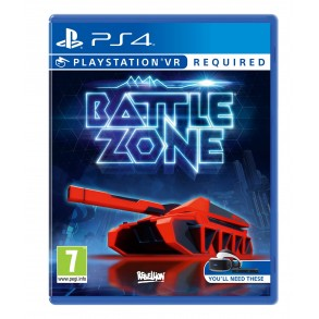 Battlezone PSVR  PS4 VR